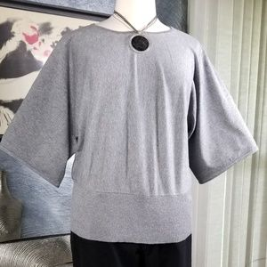 CABLE & GAUGE WOMAN DOLMAN SLEEVE SWEATER SIZE 2X
